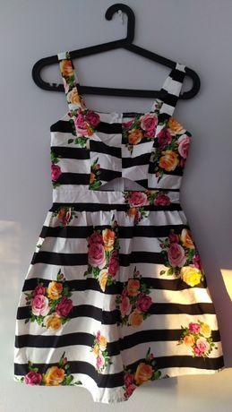 Oryginalna, letnia sukienka