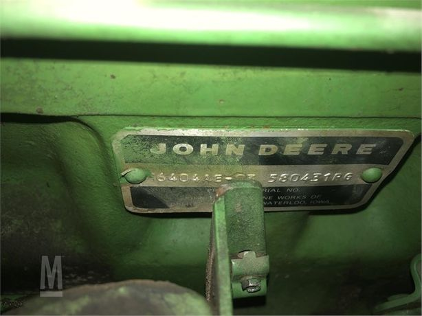 Двигатель John Deere 6404AE-03