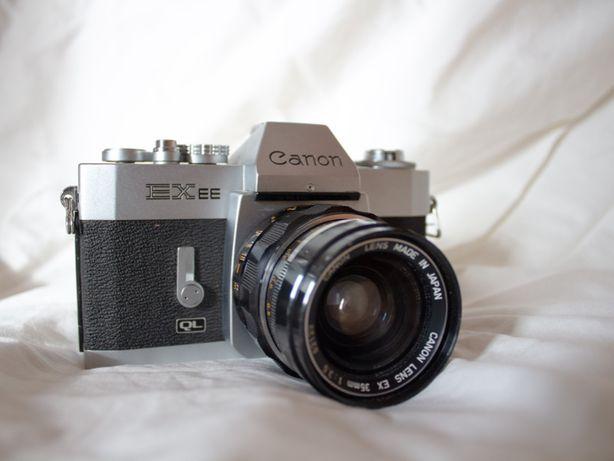 Canon EXee + lentes 35 mm e 50mm