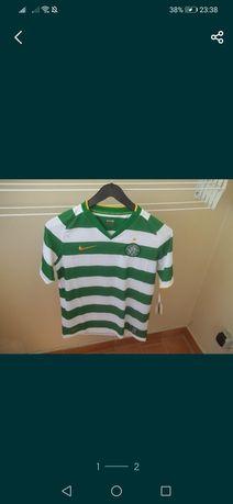 Blusa de football clube celtivc