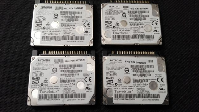 "Discos Rigidos/HDD Hitachi 1.8"" IDE 40GB"