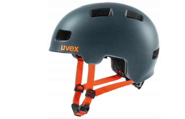 Uvex HLMT 4 CC Kask dziecięcy petrol mat 51-55