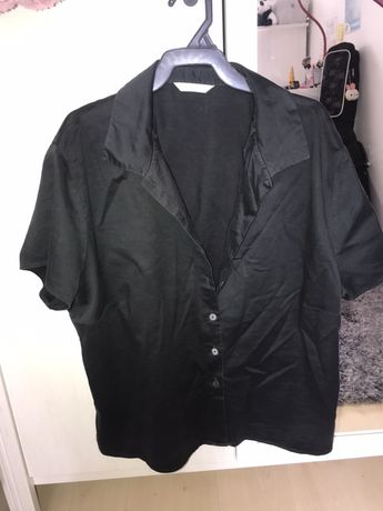 koszula damska czarna MARKS AND SPENCER rozmiar M/S