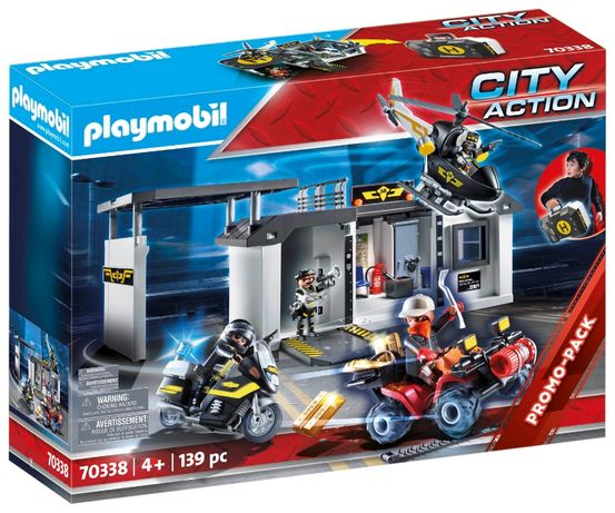 Playmobil 70338 Переносная Штаб-квартира команды спецназа