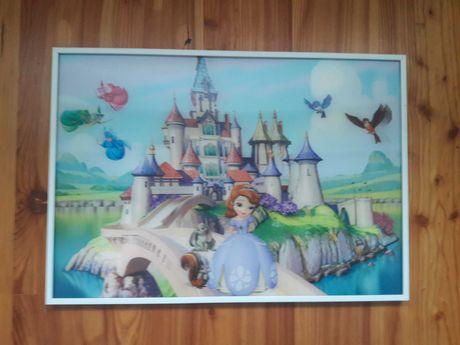 Картина в детскую 35 на 50 в формате 3D
