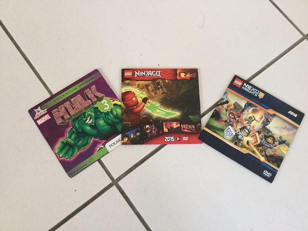 Filmy dla dzieci dvd 3sz hulk lego ninjago lub zamiana akwarystyka