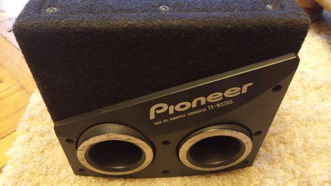 Subwoofer Pioneer TS-WX205 + wzmacniacz Kenwood gratis