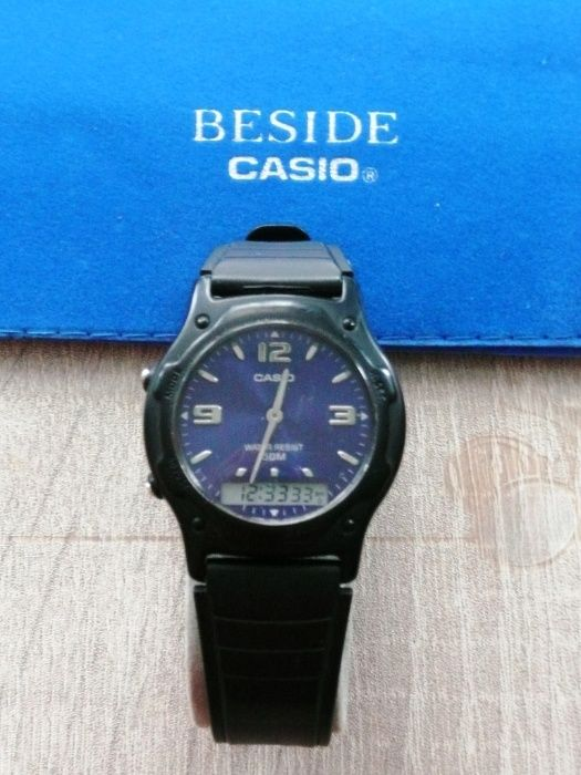 Zegarek męski Casio AW-49HE-2A (Blue) Łańcut - image 1