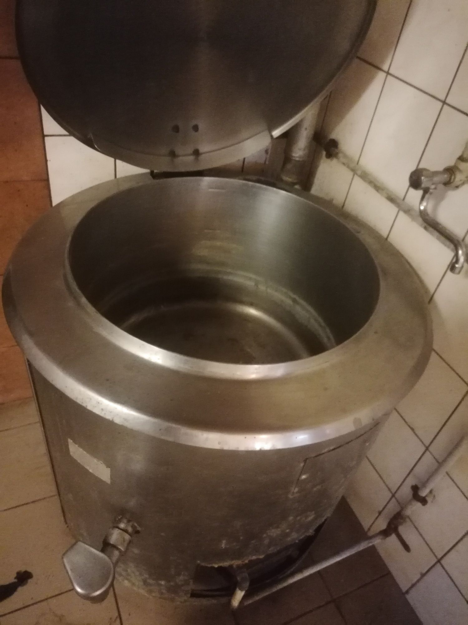 Kocioł warzelny gazowy LOZAMET 150 l