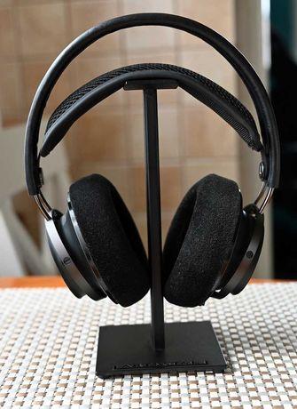 Stojak na słuchawki black loft metalowy czarny