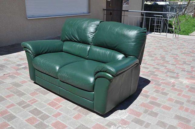 Кожаный диван. Диван из Европы. Кожаный диван домой, офис.