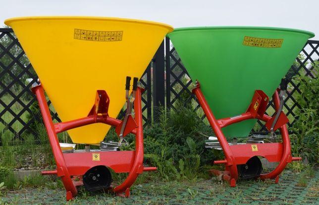 Rozsiewacz lejek 300 litrów litrów 6 łopatkowy nowy transpor lej