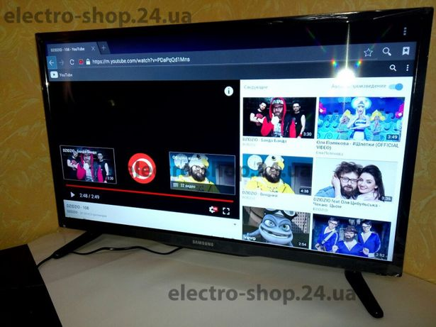 "Телевизор Android умный Samsung, 32"", 24"", FullHD, Wi-Fi, T2,"