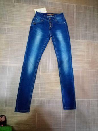 джинсы новые 25р