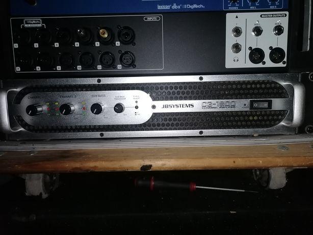 Amplificador JBSYSTEMS C3-1800