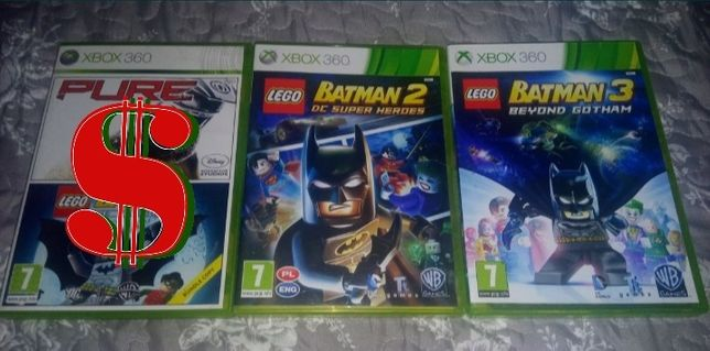 Xbox 360 - kolekcja gier Lego: Batman 2 i Batman 3