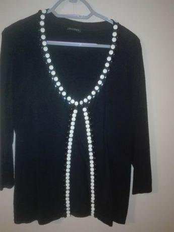 sweterek czarny l