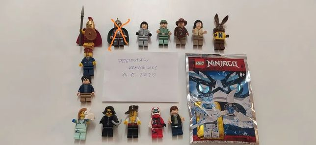 LEGO DC lord of the rings cmf super Heroes figurki AKTUALIZACJA