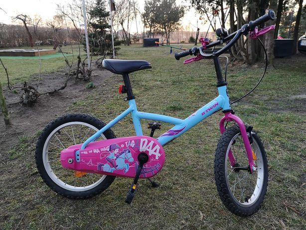 Rower dzieciecy z decathlonu Btwin 16'