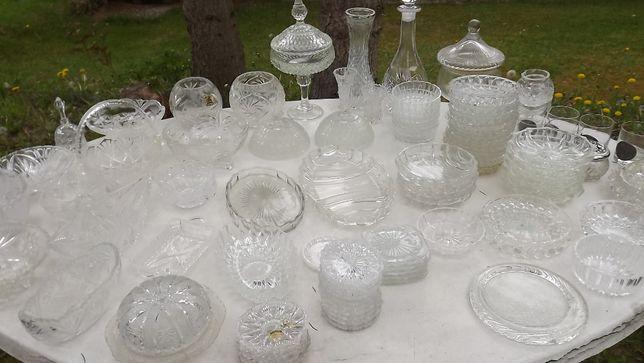 kryształy, patery, miseczki, podstawki, itd.,