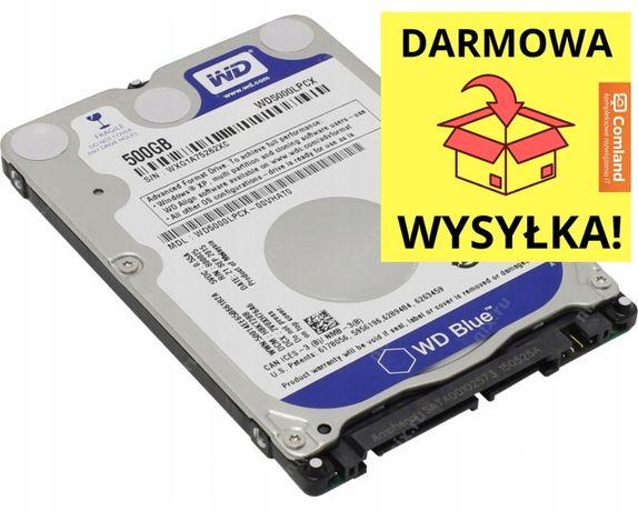 """Dysk Western Digital Blue 500 GB 2.5"""" SATA III (WD5000LPCX) NOWY"""