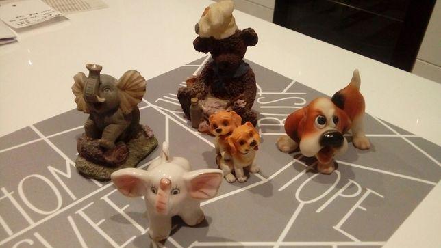 Fajansowe zwierzaki / figurki