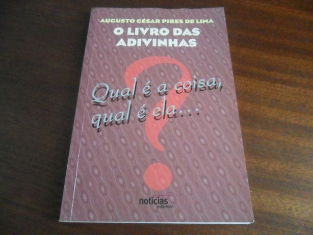 """""""O Livro das Adivinhas"""" de Augusto César Pires de Lima"""