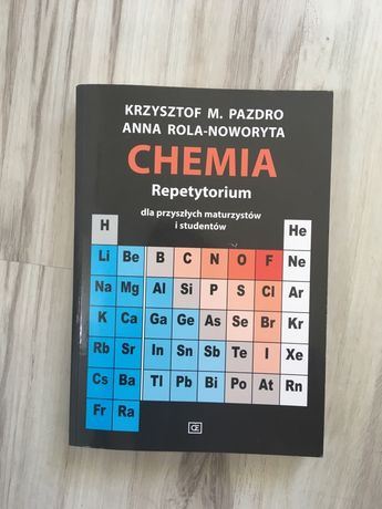 Repetytorium Chemia Pazdro