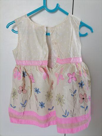 Sukienka dziewczęca r. 92