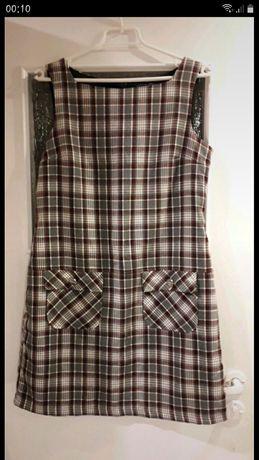 Sukienka w kratę Dorothy Perkins rozmiar 40