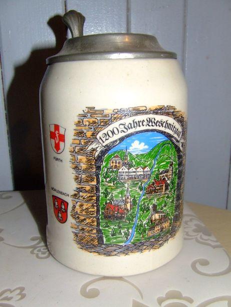 Kufel piwo birofilistyka kolekcja unikat