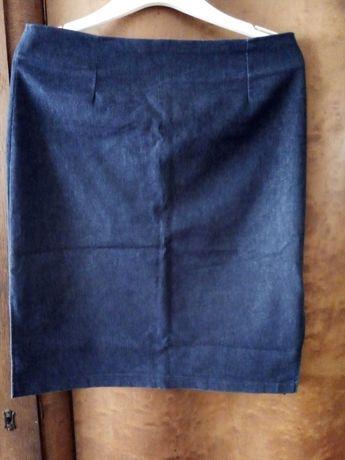 Wyprzedaż szafy spódnica Orsay olowkowa jeans