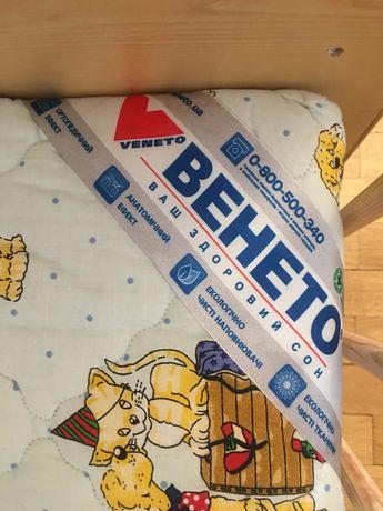 Матрац матрас Венето люкс детский 70х140 +кроватка БЕСПЛАТНО