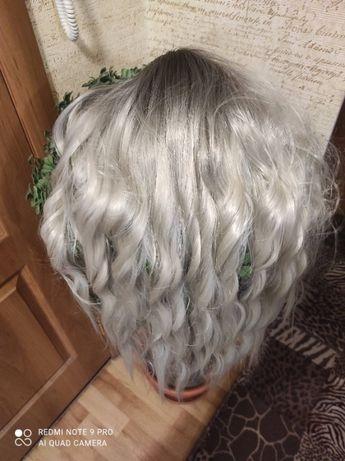 женский парик омбре