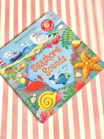 Usborne Seashore Sounds Book ,Новинка 2021р