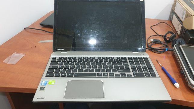 Peças, Toshiba P50 A, bateria, teclado, lcd , cpu I7-4700qm, carcaç