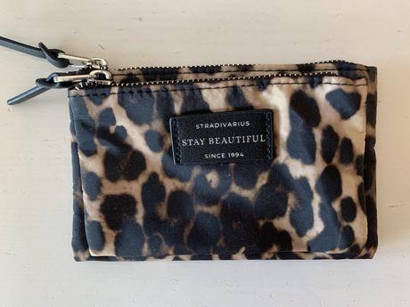Carteira de dinheiro padrão leopardo