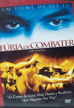 DVD Fúria de Combater