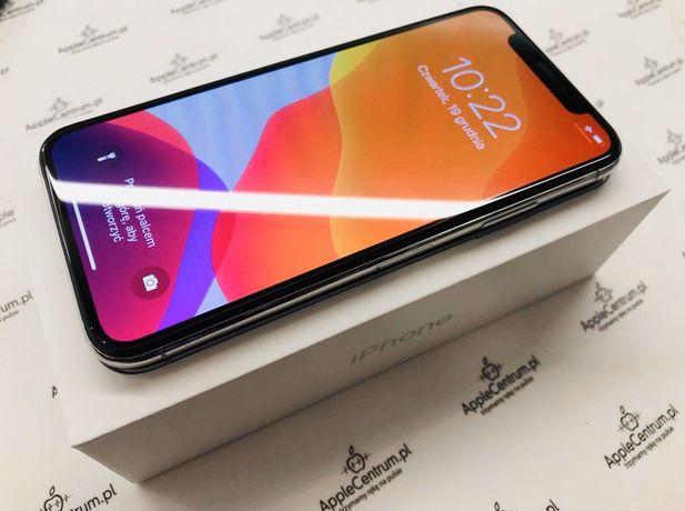 !PROMOCJA! • iPhone X 64GB Silver • GWARANCJA 1 MSC • AppleCentrum
