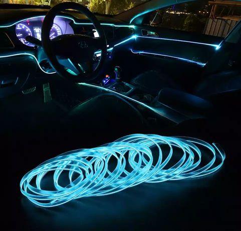 Tuning auta Taśma oświetleniowa wnętrza auta led