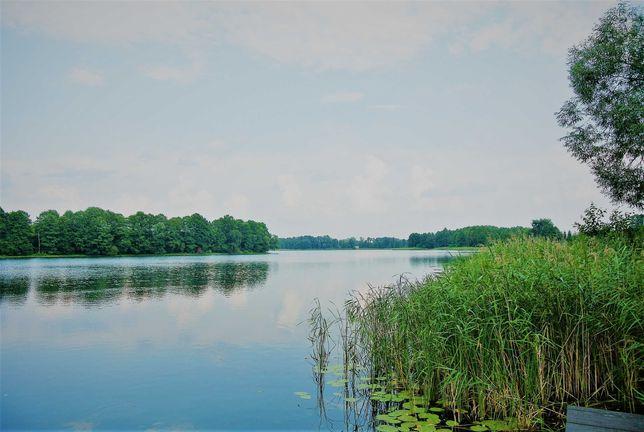siedlisko nad jeziorem