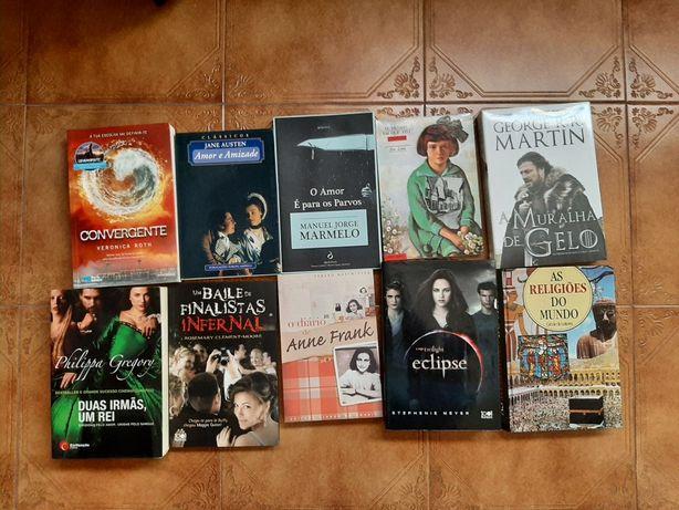 Livros variados 5€