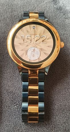 Fossil Q Venture granatowo-złoty smartwatch