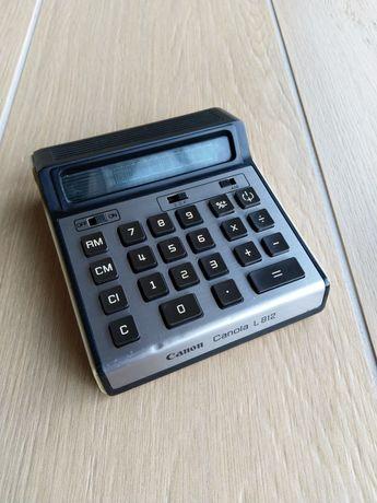 Canon Canola L 812 kolekcjonerski kalkulator 1975 rok