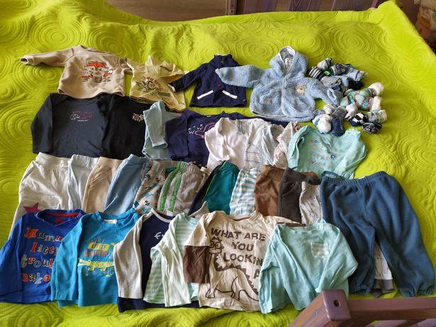 Ubranka niemowlęce, spodnie, bluzki, body,