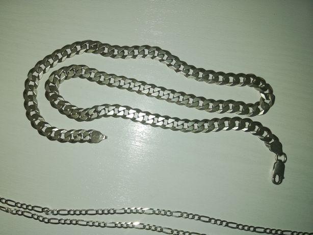 Srebrny łańcuszek pancerka 40 gram