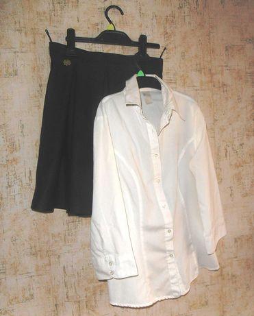 Школьная форма  юбка и блуза для старшеклассницы