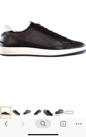 Buty męskie fendi skóra czarne 45 dl wkł 29cm