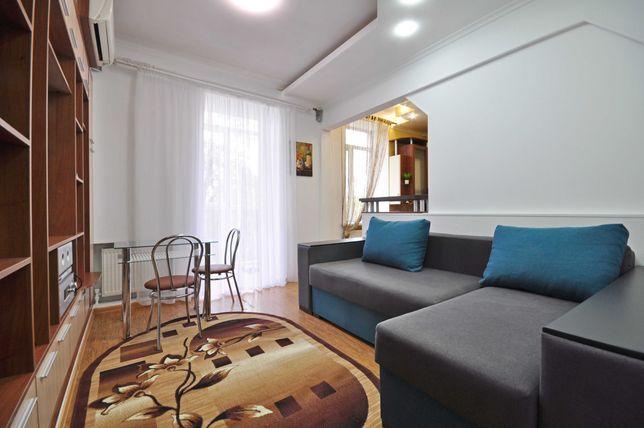 Стильная квартира с Автономным отоплением в тихом центре