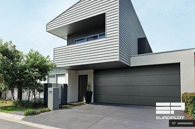 Brama garażowa + brama segmentowa + oka pvc + drzwi wejściowe